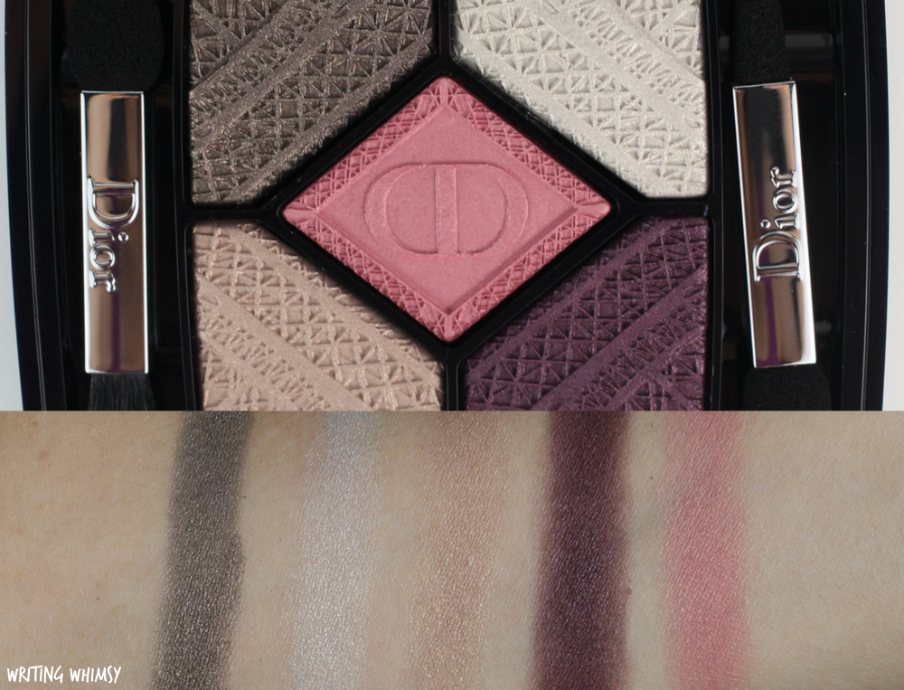 dior-fall-2016-skyline-collection-5-couleurs-eyeshadow-palette-in-capital-of-light-swatches