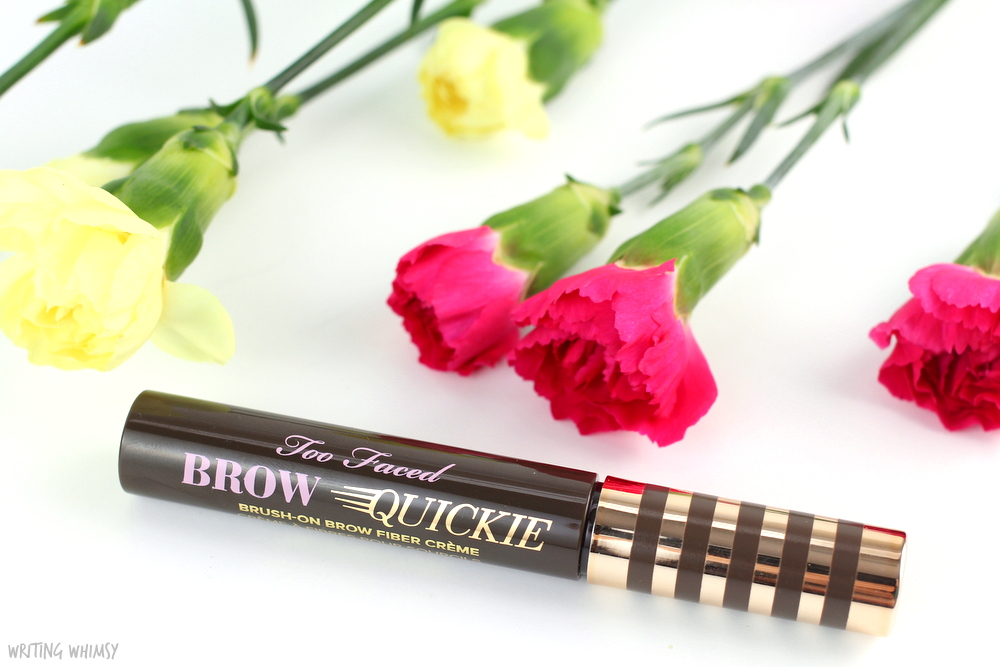 Too Faced Brow Quickie in Universal Brunette Review + Swatches 4