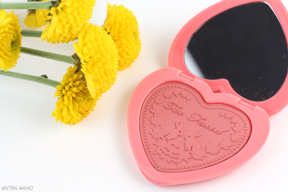 Too Faced Love Flush Blush in Love Hangover Review + Swatches