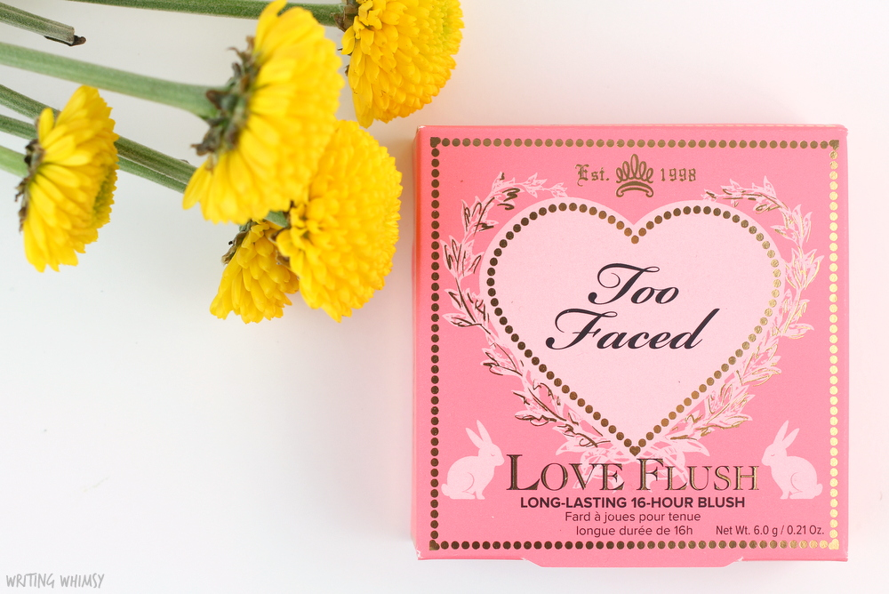 Too Faced Love Flush Long-Lasting 16-Hour Blush in Love Hangover Review + Swatches