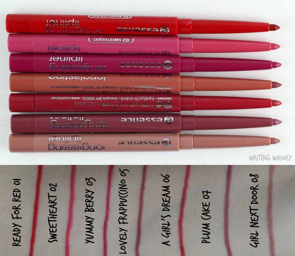 essence-longlasting-lipliners-swatches-review