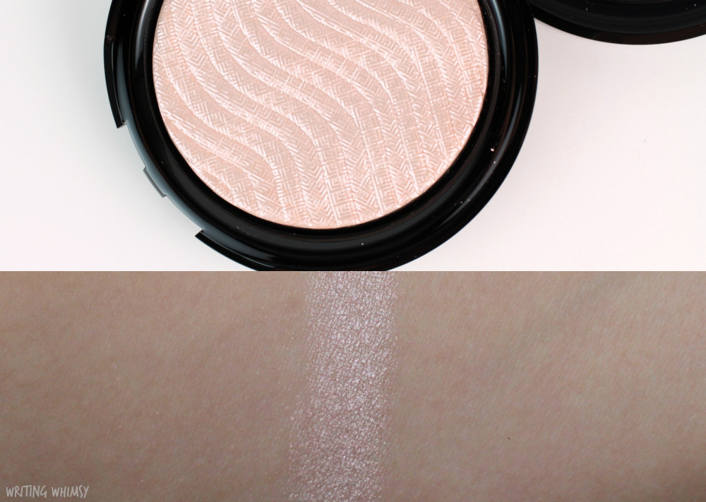 MAKE UP FOR EVER Pro Light Fusion Highlighter in Golden Pink Swatches + Review