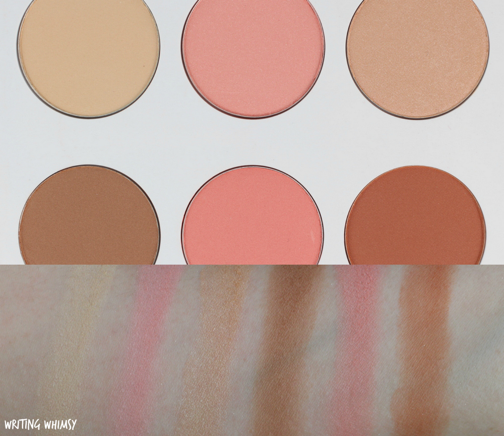 Quo Spring 2017 Quo Face Palette in Down to Earth Swatches